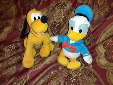 Pluto And Donald Duck Plush