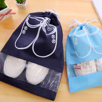 Portable Waterproof Shoes Bag Travel Tote Organizer Drawstring Pouch Storage Bag