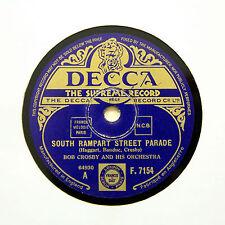 "BOB CROSBY ORCHESTRA ""South Rampart Street Parade"" (EE+) DECCA F-7154 [78 RPM]"
