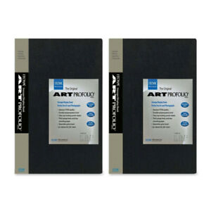 "Itoya IA-12-7 Original 8x10"" Art Profolio (2-Pack, Black)"