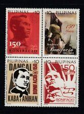 PHILIPPINES Andrés Bonifacio, Revolutionary MNH set