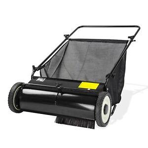 Rasenkehrmaschine Laubkehrmaschine Rasenkehrer Laubkehrer Breite 65 cm