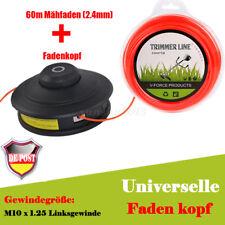 DE Fadenspule schwarz für Timbertech MS52-2TL 52ccm-19 Motorsense + 60m Mähfaden