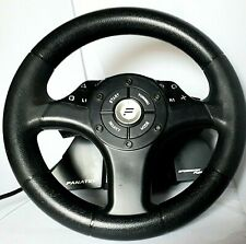 FANATEC Speedster Pure RACING WHEEL for Playstation 1 and 2  no pedals VERY GOOD