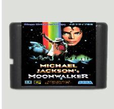 Michael Jackson's Moonwalker 16 Bit Game Card For Sega Mega Drive & Sega Genesis