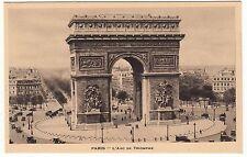 CARTE POSTALE PARIS L ARC DE TRIOMPHE