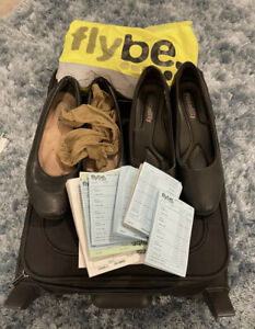 used cabin crew shoes