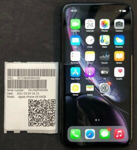 Apple iPhone XR 64Gb Black * Faulty Device ** A Volte in Bootloop ** Estetica OK