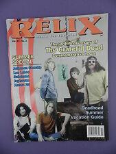 RELIX - June 1995 - Grateul Dead 30th Anniversary Commemorative Issue