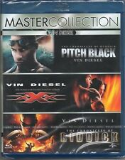 COFANETTO nuovo sig, 3 BLU RAY BRD Vin Diesel collection Pitch black-XXX-Riddick