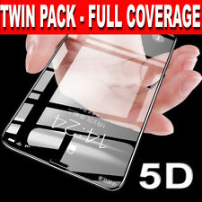 Screen Protector for iPhone XS Max,XR,XS 5D FULL COVERAGE TEMPERED GLASS 2 PACK