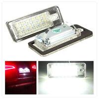 2x LED Feux Éclairage de Plaque Pour AUDI A3 S3 A4 S4 B6 B7 A6 S6 A8 Q7 RS4