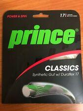 Prince Classics 17 Gauge 1.25mm Synthetic Gut Duraflex Tennis Racket String