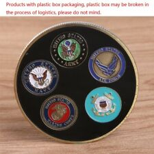 Black Free Marine Corps American Army Commemorative Challenge Coin Gift Craft