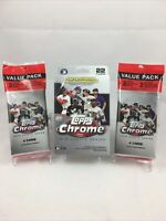 2020 Topps CHROME UPDATE Series LOT Hanger Box+ 2 Value Cello Packs AUTO SP Pink