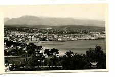 Aerial View-Resort City of Antibes-Alpes-France-RPPC-Real Photo Vintage Postcard