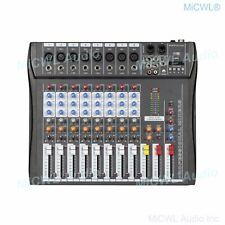 Pro 8 Channel Bluetooth Audio Mixing Console Karaoke Music Studio Sound Mixers