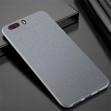 For Huawei Honor 6 7 8 9 10 Lite Sandstone Matte Silicone Soft TPU Case Cover