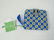 Vera Bradley Mini Zip Wallet In Riviera Blue New With Tags