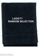 NEW Box of 25 Velvet Pool Cue Sleeves/Cases - VARIOUS LOGO'S - Quantity of 25