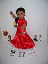 PASO DOBLE set for American Girl JOSEFINA inspired by Dancing With The Stars