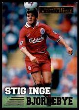Merlin Premier Gold 1996-1997 - Liverpool Stig Inge Bjornebye #79