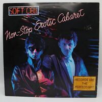 Soft Cell Non-Stop Erotic Cabaret LP Sire Records SRK 3647 Tainted Love 1981