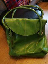 Next Lime Green Handbag PVC Hardly used