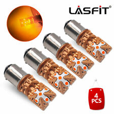 Lasfit 1157 Amber Yellow Led Front Turn Signal Lights 1152 2057 7528 2357 3496