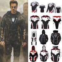 Avengers 4 Endgame Quantum T-shirt Hoodies Sweatshirt Jacket Coat Pants Costume