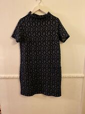 Tu Size 14 Thick Stretchy Tunic Dress Pockets Jumper Dress