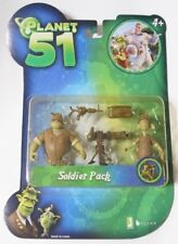 JAZWARES PLANET 51 : Soldier Pack A New