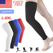 Leg Knee Sleeve Sport Compression Socks Stocking High Relieve Pain For Men Women