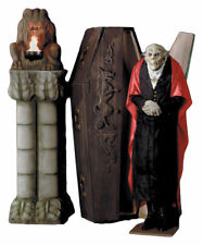 Morris Costumes Coffin Dracula Upright Height 6 feet Large Decorations & Props