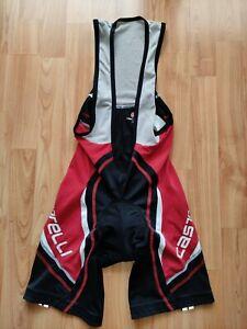 Castelli Velocissimo Men's Cycling Bib Shorts Kiss3 Chamois Size: L