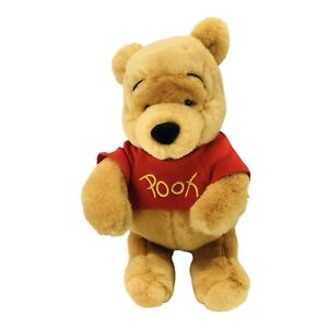 "Winnie the Pooh Bear 9"" Plush Toy Collectible Disney Stuffed Animal"