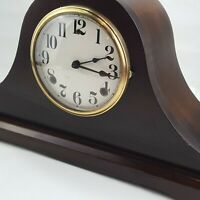 Vintage WM L Gilbert antique mantle clock used *NOT WORKING BUT DIAGNOSED