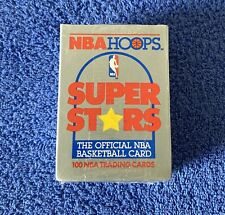1991 NBA Hoops Superstars 100 card Basketball Set New And Factory Sealed