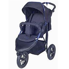 Knorr-Baby Joggy S mit Schlummerverdeck schwarz-blau NEU