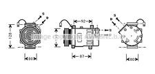 Fiat Scudo Fiat Ulysse AIR-CON COMPRESSOR Lancia Phedra Lancia Zeta