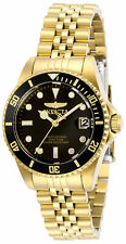 Invicta Women's Pro Diver Quartz Stainless Steel Gold Plated Watch 29190