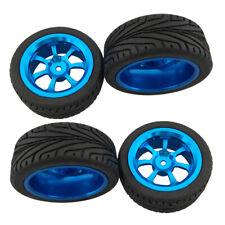 4pcs Alloy Rims Tires RC Car Wheel Tyre for 1/18 WLToys A959-b A969-b A979-b