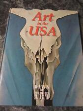 ART IN THE USA JG PRESS DAWN OF MODERN ART HCB 1994 WORLD PUBLICATIONS 64 PGS