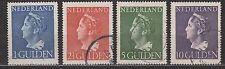 NVPH Netherlands Nederland nr 346-349 used Koningin Wilhelmina 1946 Pays Bas
