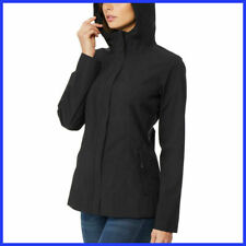 NEW Women's Black 32 DEGREES Waterproof Rain Jacket Size Medium M