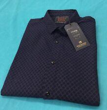 Scotch & Soda 145370 Slim Fit Classic Shirt Dark Navy Size XL RRP£95.00 BrandNew