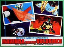 T39 FOTOBUSTA MAZINGA CONTRO GOLDRAKE ANIMAZIONE UFO ROBOT DAIMOS ATLAS TOEI 1