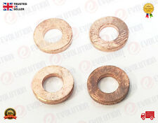 4X FORD TRANSIT CONNECT FOCUS MONDEO CMAX INJECTOR COPPER WASHER / SEALS 1378433
