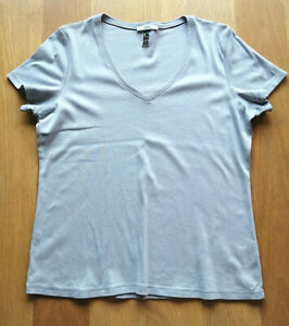Womens Stone V-Neck T-Shirt by M&S - Size: 22