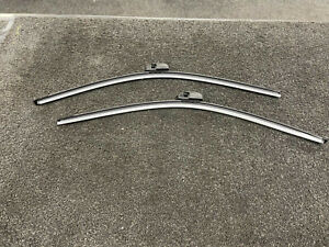 Bentley Continental Gt Gt3 Gtc Flying spur Front Wiper Blade Kit  2003 On